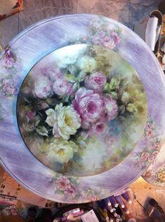 Suppawan 3.jpg Beautiful Floral Plate
