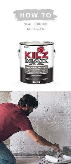 No matter how old or weathered the surfaces of your home are, it's easy to give them a modern update with KILZ Primers. Learn how to seal porous surfaces and make all of your DIY home decor projects that much more beautiful.