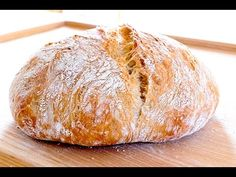 Hogaza de Pan Italiano Bread Recipes, Cooking Recipes, Pan Dulce, Pan Bread, Bread And Pastries, Healthy Cooking, Easy Meals, Food And Drink, Yummy Food