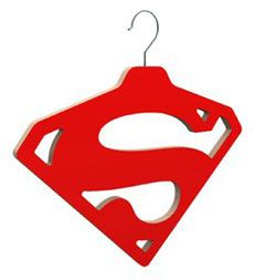 Your cape gets its own special hanger .. #duh. #superman