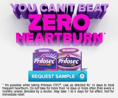 New Freebies Offer: Get a Free Sample of Prilosec OTC : #Freebies Check it out here!!