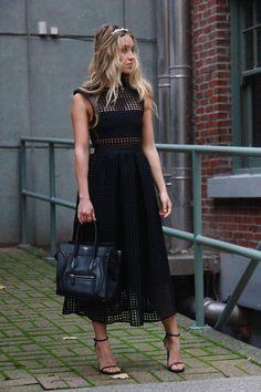 A Fashion Love Affair - Self Portrait Dress - http://rstyle.me/~2XZz9