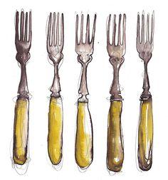 five forks by BridgetFarmer, via Flickr