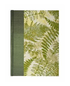 """Blank Book Blank w/Paper Journal """"Woodland Fern""""  by WolfiesBindery.. cool gift for an artist, especially one who draws outdoor scenes $25"""