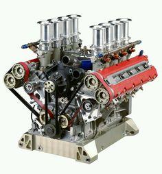 Ferrari 355 Super GT V8 engine