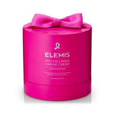 Limited Edition Pro-Collagen Marine Cream Supersize for Breast Cancer Care. Celebrating 25 years of the Pink Ribbon for Breast Cancer Awareness BENEFITS: Smoothes, Hydrates, Firms ELEMIS is proud to be partnering with Breast Cancer Care for the 25th anniversary of the pink ribbon. To celebrate, ELEMIS is donating £25,000 to help Breast Cancer Care continue their excellent work supporting women living with and beyond breast cancer.