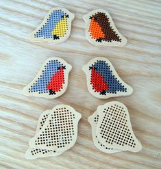 Wooden forms for embroidery (cross stitch Wooden blanks) Embroidery Kits, Cross Stitch Embroidery, Cross Stitch Patterns, Xmas Cross Stitch, Cross Stitching, Polymer Clay Owl, Weaving For Kids, Laser Cut Jewelry, Knitting Kits