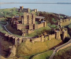 Dover Castle, Dover - is the largest castle in England.