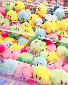 "junnyan69: ""I met a lot of #Kirby! (◍•ᴗ•◍) """