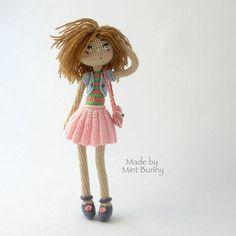 Yulia, happy dollmaker✌ @mint.bunny #doll#crochetdoll...Instagram photo | Websta (Webstagram)