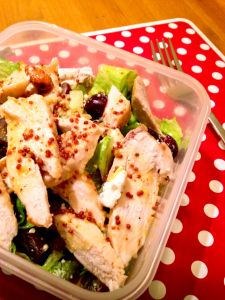 Logic Defying Fruity Chicken Salad www.theglasgowscullery.com