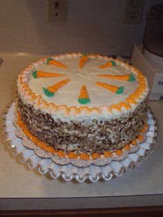 Taste ~ Prize Winning Carrot Cake ~ Second Place in the King Arthur Great Cake Contest at The Tulsa State Fair