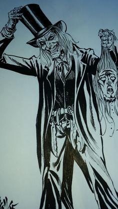The Caretaker fanart Halloween Horror Nights, Fanart, Inspiration, Biblical Inspiration, Fan Art, Inspirational, Inhalation