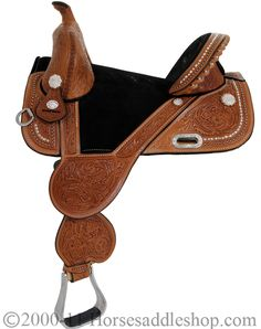 Check out our Circle Y Barrel Saddle
