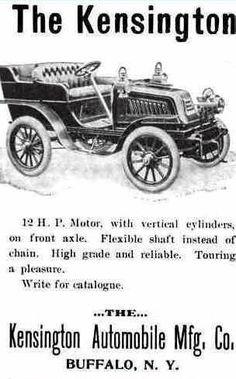 1903 Kensington Automobile Advertisement