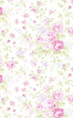 """A print from """"Treasures"""" by Shabby Chic Garden Rose Collection"""