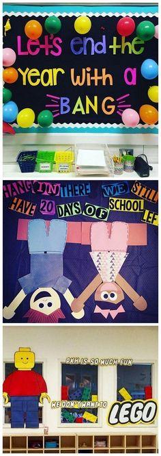 End of the Year Classroom Bulletin Board Ideas - Crafty Morning