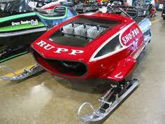 rupp snowmobile race sled