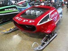 rupp snowmobile race sled