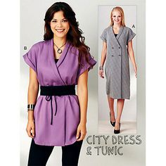 Buy Kwik Sew City Dress and Tunic Sewing Pattern, 3913 Online at johnlewis.com