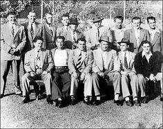 Gangster Squad, the secretive Los Angeles Police Department unit whose job it was to get the mob out of Los Angeles, circa 1948. Photo by Ga...