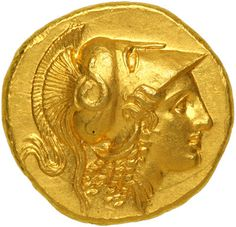 Alexander the Makadon Gold coin