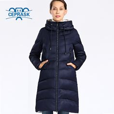 2018 New Winter Jacket Women Plus Size Long Thick Fashion Womens Winter Coat Hooded Down Jackets Parka Femme 6xl 5xl Ceprask. Yesterday's price: US $118.56 (97.11 EUR). Today's price: US $42.68 (35.29 EUR). Discount: 64%.
