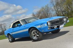 1969 Ford Mustang Shelby GT-500 Comvertible