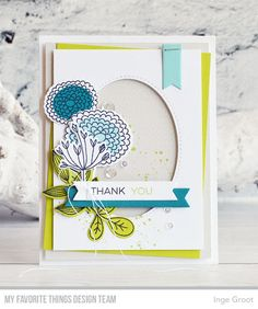 Vandaag voorbeelden van de Card Kit van Mei van My Favorite Things Stamps . Elke maand verschijnt er een nieuwe Card Kit. Deze maand is ...