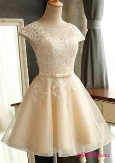 Homecoming Dress,Lace Homecoming Dresses,Short Prom Gown,Homecoming Gowns,2018 Homecoming Dress,Ball Gown Homecoming Dresses,2018 Sweet 16 Dress For Teens PD20183934