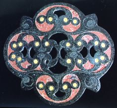 One of the most striking examples of La Tene Celtic enamel work, will always be this incredible piece from ancient Britain.