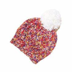 Teenloveme Multi Color Woolen Knit Cap Ball of Wool