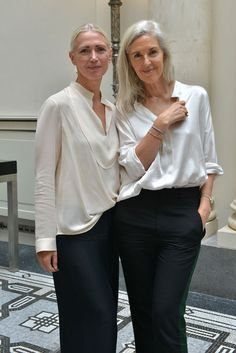 Christiane Arp and Ruth Chapman Simplicity can be so sexy, youthful, and always modern.
