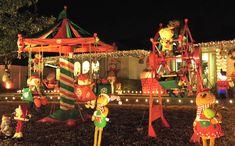 Meet the Neighbors: Interlochen Christmas Lights a Family Tradition #ArlingtonTX