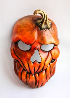 Mask for Carnival,Interior Decoration,Masquerade. Mascaras Halloween, Halloween Masks, Halloween Pumpkins, Halloween Crafts, Halloween Decorations, Pumpkin Mask Halloween, Halloween 2020, Halloween Halloween, Wood Carving