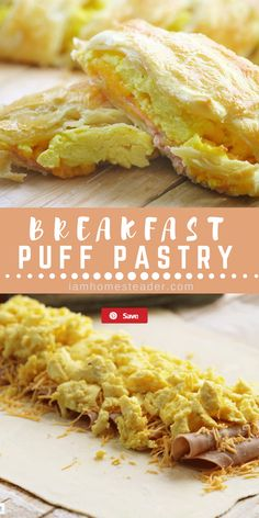 Breakfast Puff Pastry Breakfast Puff Pastry,Pastries If you are looking for classic comfort food, look no further! This easy breakfast puff pastry made with eggs, cheese, and ham is sure to impress!For more delicious. Breakfast Puff Pastry, Breakfast For Dinner, Breakfast Dishes, Best Breakfast, Breakfast Recipes, Breakfast Ideas With Eggs, Breakfast Pockets, Homemade Breakfast, Recipes Dinner