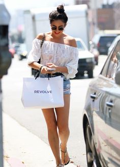 6/26/16 - Shay Mitchell shopping in LA. - D.C