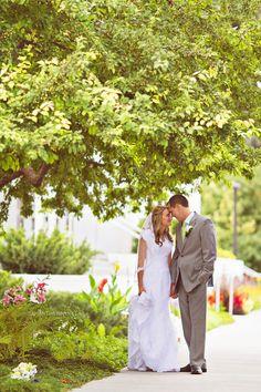 Samantha Hanny Photography » Idaho Falls Temple Wedding