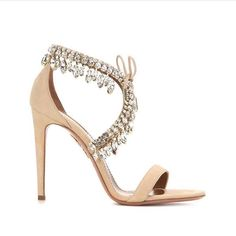 """Jewels on your feet! introducing the Milla sandal just in @aquazzuraboutique in Miami, Florence and London @netaporter @saks @antoraselection @apropos_store @aurum_thestore @bergdorfs @beymen @brownsfashion @ekseption @ennymonacostores @harrods @harveynicholstr @lanecrawford @mcmarket @modaoperandi @mossparis @mytheresa.com @neimanmarcus @theofficialselfridges @troispommes_thestores"" Photo taken by @aquazzura on Instagram, pinned via the InstaPin iOS App! http://www.instapinapp.co"