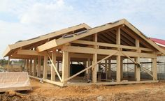 Timber Structure, Cabana, Planer, Homesteading, Bungalow, My House, Beautiful Homes, Gazebo, House Plans