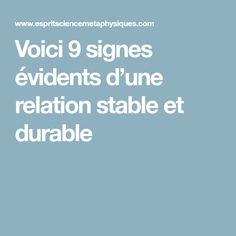 Voici 9 signes évidents d'une relation stable et durable