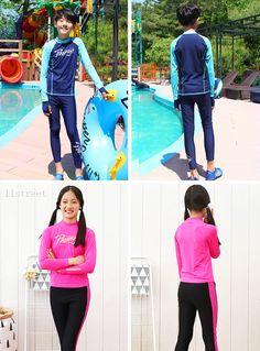Junior Swimsuits / Rash Guard [4SEASON] 11Street #summer #beach #poolparty