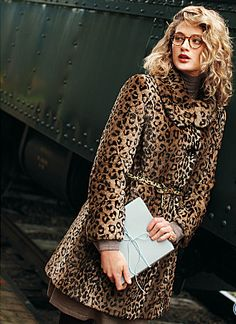 I love Cheetah print coats
