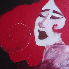«#art #illustration #drawing #painting #tentation #red #passion #dcaout #apple»