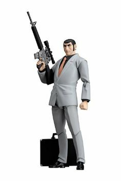 Golgo 13: Figma Golgo 13 PVC Figure by Max Factory. $116.31. Character: Duke Togo. Anime Action Figure. Max Factory Figma Action Figure. Series: Golgo 13. A man's world that anyone would yearn for. Even better with a di:stage included!  From 'Golgo 13', a manga and anime series that began back in the 1960s, comes a figma of the professional assassin, Duke Togo.   * Using the smooth yet poseable joints of figma, you can act out various scenes.  * A flexible plastic is used for ...