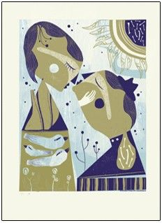 Artprint 'On Earth' -  by Mara Piccione