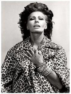 Sophia Loren by Helmut Newton                                                                                                                                                      Más