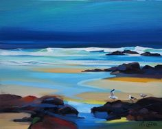 Low Tide Colours by Pam Carter