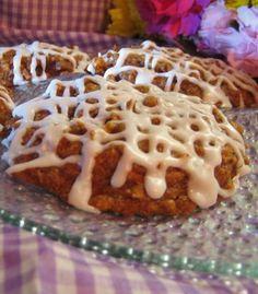 Chef Tess Bakeresse: Low Fat Carrot Cake Cookies