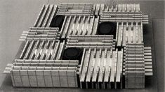 icancauseaconstellation:  Peter Zumthor, Expo 2002 Hannover - Swiss Pavillion (model)